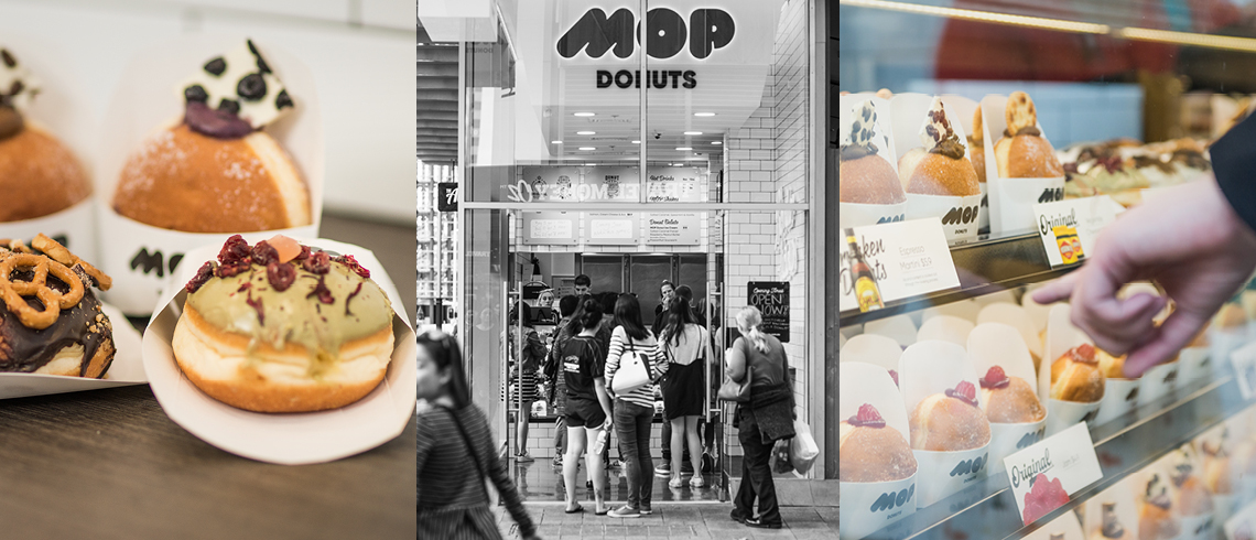 mop donuts 140 william street restaurants in perth. Black Bedroom Furniture Sets. Home Design Ideas